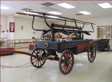 1821 hand Tub Pumper
